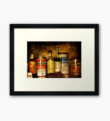 Cures Framed Print