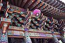 Handpainted Temple Eaves by John Carpenter
