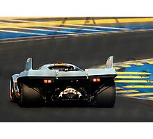 Porsche 917 into Tertre Rouge at Le Mans Photographic Print