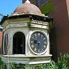 Clock Tower In Need of Repair by MaryinMaine