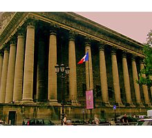 La Bourse  (The Stock Exchange Paris) Photographic Print
