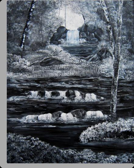 Rapid waters by Susie Hawkins