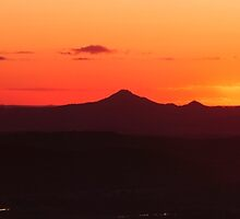 Panorama view from Mount Tamborine by Rob D