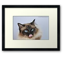 Tongue of Doom Framed Print