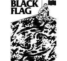 Black Flag - Six Pack Photographic Print