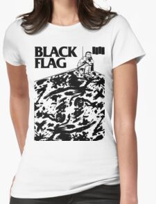 Black Flag - Six Pack Womens Fitted T-Shirt