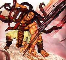 Necalli - Street Fighter V / Street Fighter 5 - New Character by frictionqt