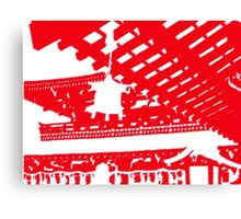Japan Red Canvas Print
