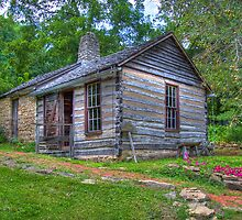 1830 Log Cabin by ECH52