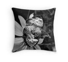 Black & White Pearl Throw Pillow