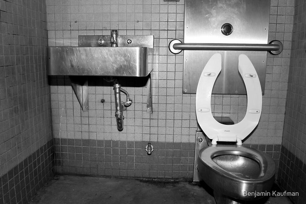 Regrettable bathroom by Benjamin Kaufman