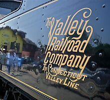 Valley Railroad Coal Tender for Engine #40 by Jack McCabe