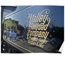 Valley Railroad Coal Tender for Engine #40 Poster