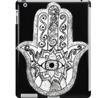 Monochrome Hamsa iPad Case/Skin