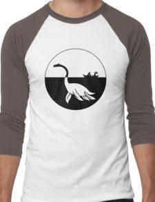 Nessy (Loch Ness Monster) Logo Men's Baseball ¾ T-Shirt