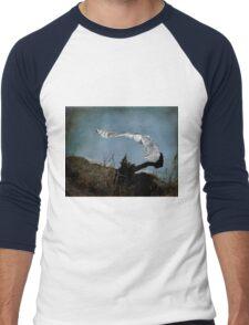 Wings of winter Men's Baseball ¾ T-Shirt