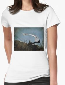 Wings of winter Womens Fitted T-Shirt