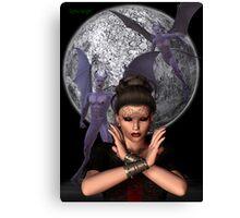Mistress of the Demon Hordes Canvas Print