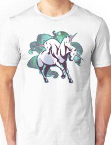 3 headed unicorn Unisex T-Shirt