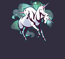 3 headed unicorn Womens Fitted T-Shirt