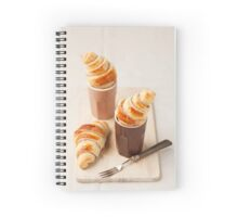 Small croissants Spiral Notebook