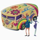 Psychedelic Vehicle & Beatniks by Zehda