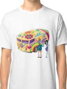 Psychedelic Vehicle & Beatniks Classic T-Shirt