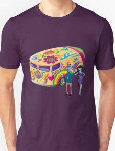 Psychedelic Vehicle & Beatniks T-Shirt