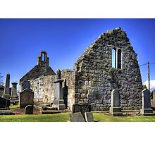 St Cuthbert's Ruined Church Photographic Print