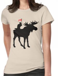 Oh Canada ! Womens Fitted T-Shirt