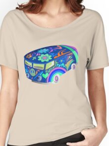 60's Psychedelic Vehicle Women's Relaxed Fit T-Shirt