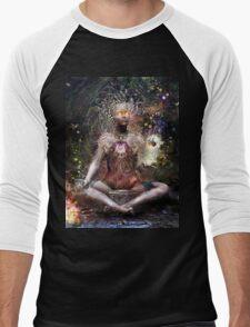 Sacrament For The Sacred Dreamers Men's Baseball ¾ T-Shirt