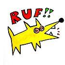 poinky RUF! dawg by Ollie Brock