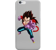 dragon ball z vegeta super saiyan 4 anime manga shirt iPhone Case/Skin