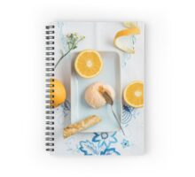 Orange ice cream Spiral Notebook