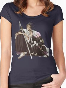 Zaraki Kenpachi 3 Women's Fitted Scoop T-Shirt