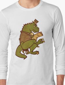 Gentleman T-Rex Long Sleeve T-Shirt