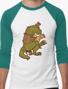 Gentleman T-Rex Men's Baseball ¾ T-Shirt