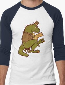 Gentleman T-Rex Men's Baseball ¾ T-Shirt