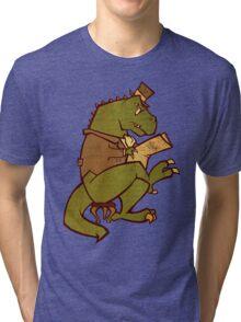 Gentleman T-Rex Tri-blend T-Shirt