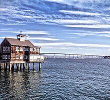 Pier Cafe - San Diego by Kimberly Palmer