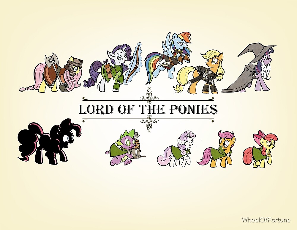 My little fellowship of the ring by WheelOfFortune