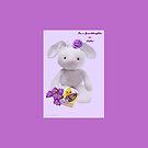 For Granddaughter on Easter by Ann12art
