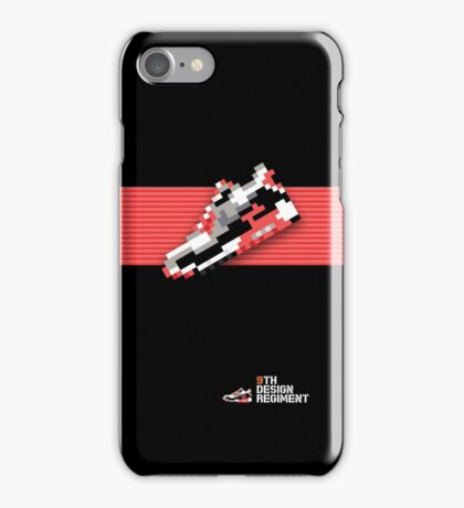 8-bit running shoe for iPods, iPhone 4S and older models iPhone Case/Skin