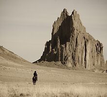 Ship Rock, New Mexico. by geofflackner