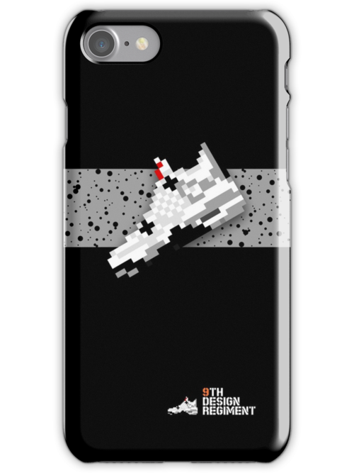 8-bit basketball shoe 4 for iPhone 5 by 9thDesignRgmt