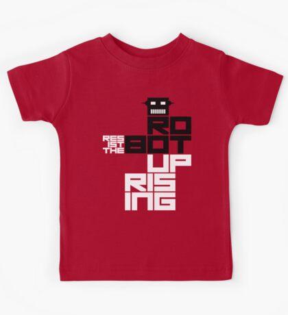 Resist the Robot Uprising Kids Tee