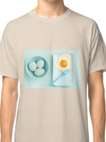 Eggs and fried egg Classic T-Shirt