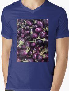 Eggplants Mens V-Neck T-Shirt