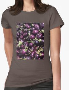 Eggplants Womens Fitted T-Shirt